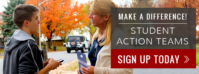 Student Action Teams Sign Up Today