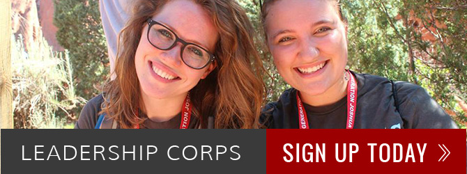 Leadership Corps - Sign Up Today